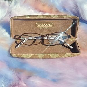 COACH WOMEN EYEGLASSES MARGARET BROWN